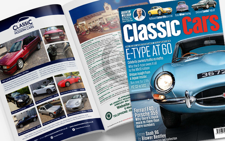 Classic Modern Cars Classic Cars Magazine Advertising