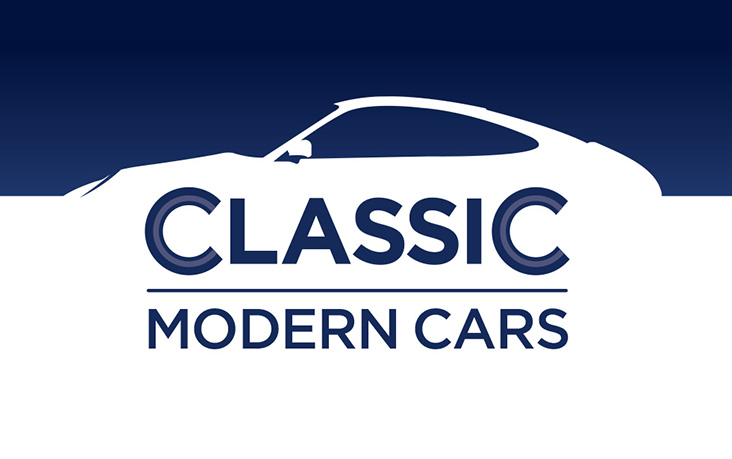 classic modern cars branding